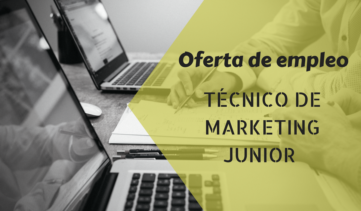 Oferta de empleo técnico de marketing junior